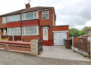 Thumbnail 3 bedroom semi-detached house for sale in School Grove, Prestwich, Manchester