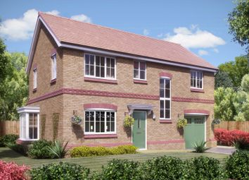 Thumbnail 4 bedroom detached house for sale in Rectory Lane, Standish, Wigan