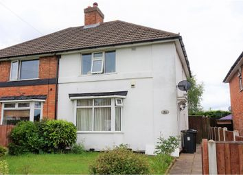 Thumbnail 3 bedroom semi-detached house for sale in Wandsworth Road, Kingstanding, Birmingham