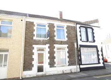 Thumbnail 3 bed terraced house for sale in Leslie Street, Aberavon, Port Talbot, Neath Port Talbot.
