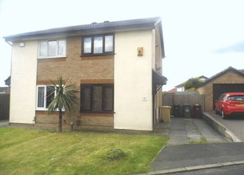 Thumbnail 2 bed semi-detached house to rent in Wharfedale, Westhoughton, Bolton