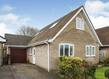Thumbnail 4 bed detached bungalow for sale in Stradling Close, Sully, Penarth