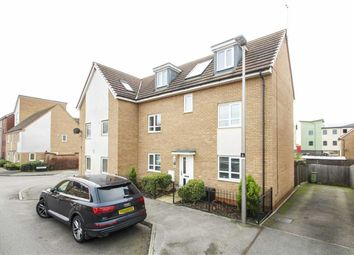 Thumbnail 4 bed semi-detached house to rent in Bure Valley, Broughton, Milton Keynes