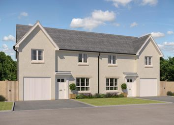 "Thumbnail 3 bed semi-detached house for sale in ""Ravenscraig"" at Whitehill Street, Newcraighall, Musselburgh"