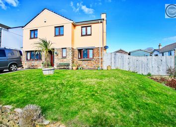 Thumbnail 5 bed link-detached house for sale in The Meadow, Polgooth