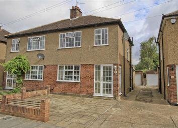 Thumbnail 3 bed semi-detached house for sale in Tavistock Road, Ickenham, Uxbridge