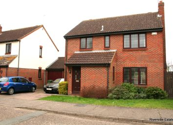 Thumbnail 4 bed detached house to rent in Watermill Road, Feering, Colchester