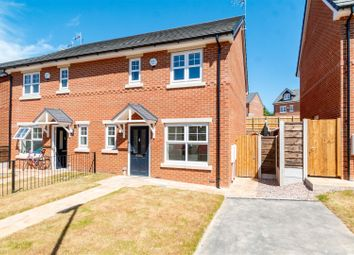 Thumbnail 3 bed property for sale in Saddlecote Close, Manchester