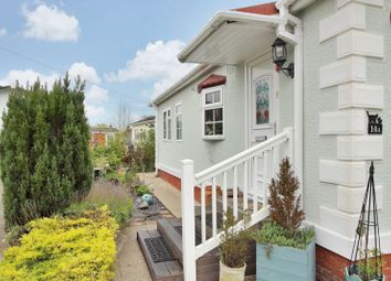 Thumbnail 2 bed bungalow for sale in Mullenscote Mobile Home Park, Weyhill, Andover