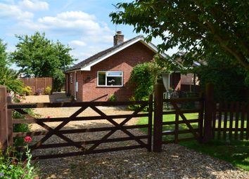 Thumbnail 2 bed detached bungalow for sale in Hay Green Road South, Terrington St. Clement, King's Lynn