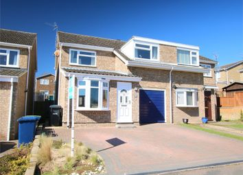 Thumbnail 3 bed semi-detached house for sale in Gainsborough Avenue, Eaton Ford, St. Neots
