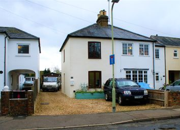 Thumbnail 2 bedroom semi-detached house for sale in Denmark Avenue, Woodley, Reading