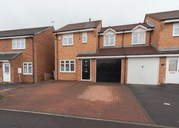 Thumbnail 3 bed semi-detached house for sale in Larch Grove, Blyth
