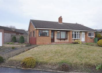 Thumbnail 2 bed semi-detached bungalow for sale in Cedar Close, Pontefract