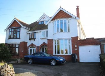 Thumbnail 4 bed semi-detached house for sale in Durleigh Road, Bridgwater