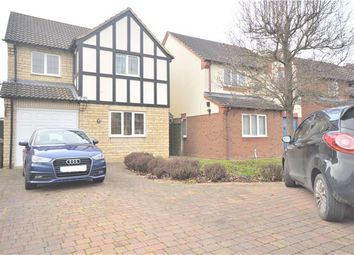 Thumbnail 4 bed detached house for sale in The Cornfields, Bishops Cleeve, Cheltenham, Gloucestershire