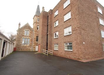 Thumbnail 2 bed flat for sale in Sea Tower Court, Ayr