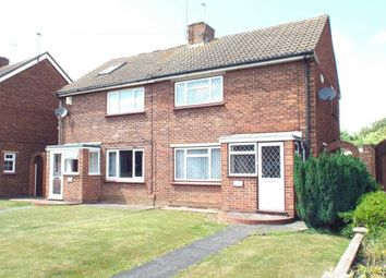 Thumbnail 2 bed semi-detached house for sale in Deneholm Road, Northfleet, Gravesend