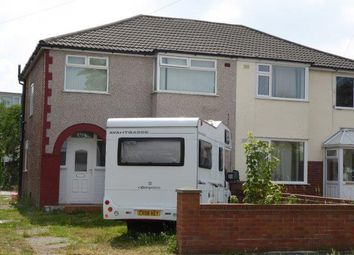 Thumbnail 3 bed semi-detached house to rent in Gainsborough Avenue, Maghull, Liverpool