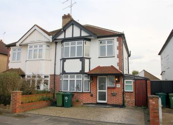 Thumbnail 3 bedroom semi-detached house for sale in Pavilion Gardens, Staines-Upon-Thames, Surrey