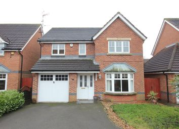 Thumbnail 4 bed detached house for sale in Milfoil Close, Hinckley