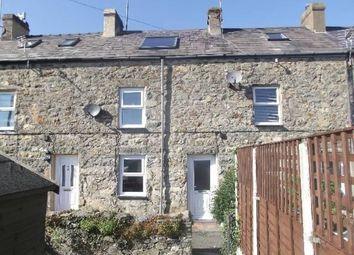 Thumbnail 2 bed terraced house for sale in Penmount Terrace, Pwllheli, Gwynedd