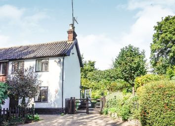 Thumbnail 2 bedroom semi-detached house for sale in High Road, Wortwell, Harleston