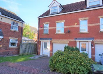 Thumbnail 3 bed town house for sale in Birch Drive, Scunthorpe