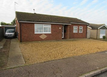 Thumbnail 3 bed bungalow for sale in Rolfe Crescent, Heacham, King's Lynn