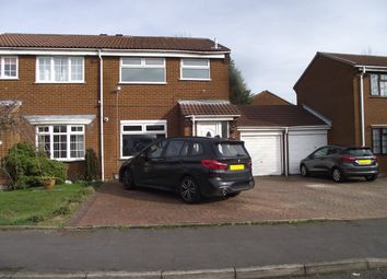 Thumbnail 3 bed semi-detached house for sale in Castello Drive, Castle Bromwich, Birmingham