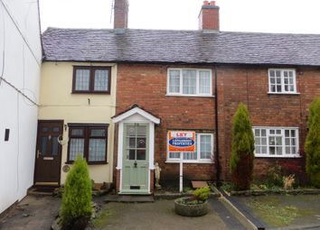 Thumbnail 2 bed terraced house to rent in Main Street, Higham On The Hill, Nuneaton