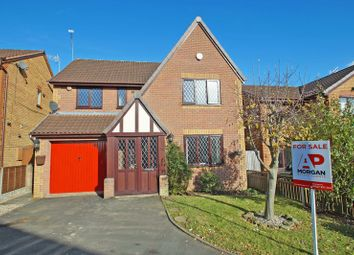 Thumbnail 4 bed detached house for sale in Foxglove Way, Lickey End, Bromsgrove