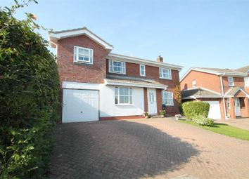 Thumbnail 4 bedroom detached house for sale in Trevelyan Place, Crook