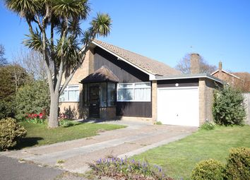 Thumbnail 3 bed detached bungalow for sale in Crofton Park Avenue, Bexhill-On-Sea
