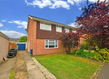 Thumbnail 3 bed semi-detached house to rent in Millins Close, Owlsmoor, Sandhurst, Berkshire