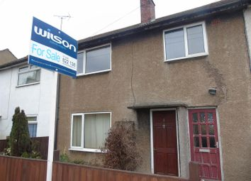 Thumbnail 3 bed terraced house for sale in Haslam Court, Bolsover, Chesterfield