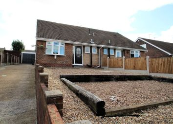 Thumbnail 2 bed bungalow for sale in Fieldhead Close, Pontefract, West Yorkshire