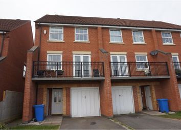 Thumbnail 4 bedroom town house for sale in Watermint Close, Heatherton Village
