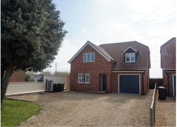 Thumbnail 4 bed detached house for sale in The Drove, Downham Market