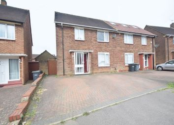 Thumbnail 3 bedroom semi-detached house for sale in Abbey Drive, Luton