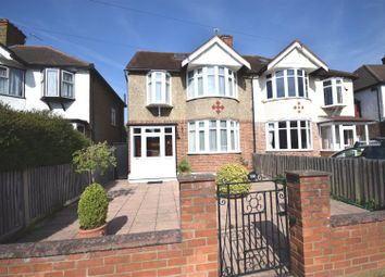 Thumbnail 4 bed semi-detached house for sale in Maycross Avenue, Morden