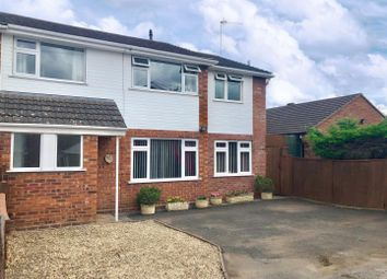 Thumbnail 4 bed semi-detached house for sale in Dudley Close, Worcester