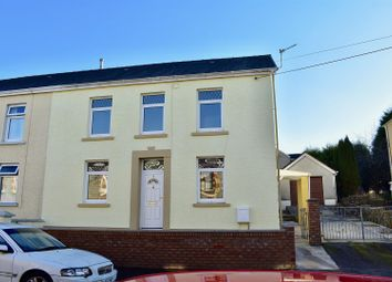 Thumbnail 3 bedroom semi-detached house for sale in Stepney Road, Garnant, Ammanford