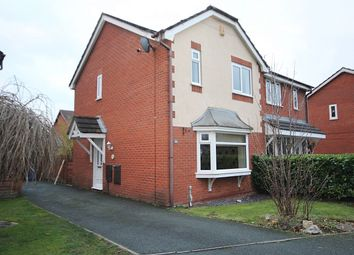 Thumbnail 3 bed semi-detached house to rent in Matlock Close, Great Sankey, Warrington