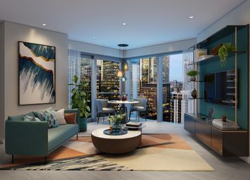 Thumbnail 1 bed flat for sale in 37.2 Aspen At Consort Place, Marsh Wall, London