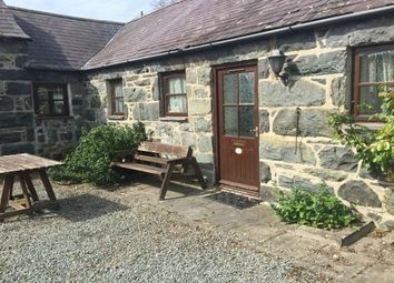 Thumbnail 2 bed cottage to rent in Rowen, Conwy
