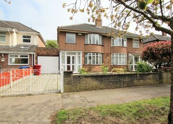 Thumbnail 3 bed semi-detached house to rent in Bowring Park Avenue, Liverpool