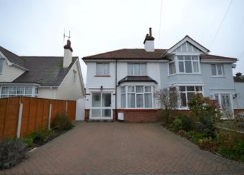 Thumbnail 3 bedroom semi-detached house for sale in Harold Road, Clacton-On-Sea