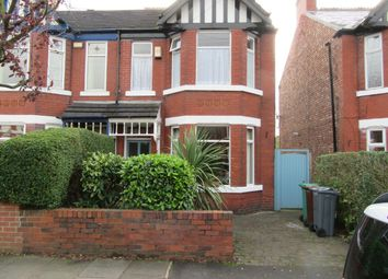 Thumbnail 3 bed semi-detached house for sale in Nicolas Road, Chorlton, Manchester