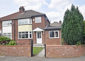 Thumbnail 4 bed semi-detached house for sale in Tanfield Road, East Didsbury, Manchester